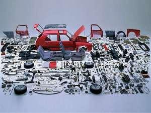 BTES car apart
